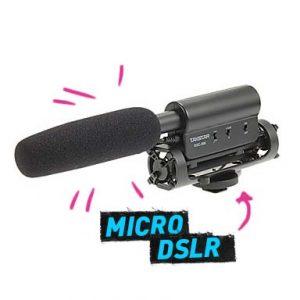 Micrófono Shotgun DSLR