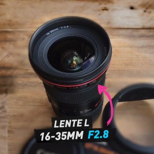 lente 16-35mm 2.8f canon alquiler