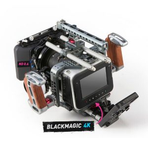 Kit Cámara Black Magic 4k 2
