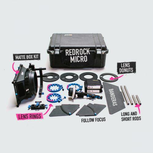 kit dslr redrock micro rubik rental