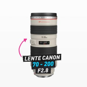 lente canon 70-200m f2.8