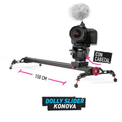 alquiler Konova-Camera-Slider-Dolly