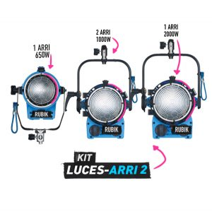 Kit de Luces Arri 2