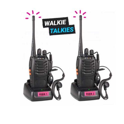 walkie talkies rental